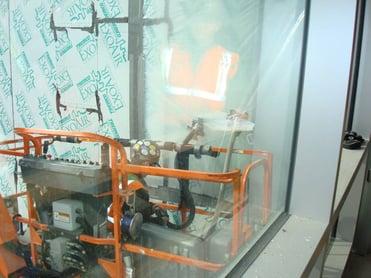 Testing of window system