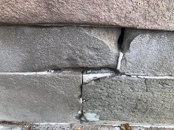 Mortar Deterioration