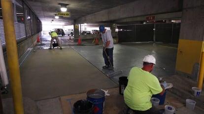 PUMA Coating in Indianapolis Parking Garage