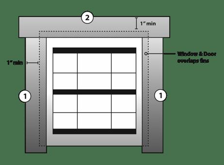 diagram of proper window detailing